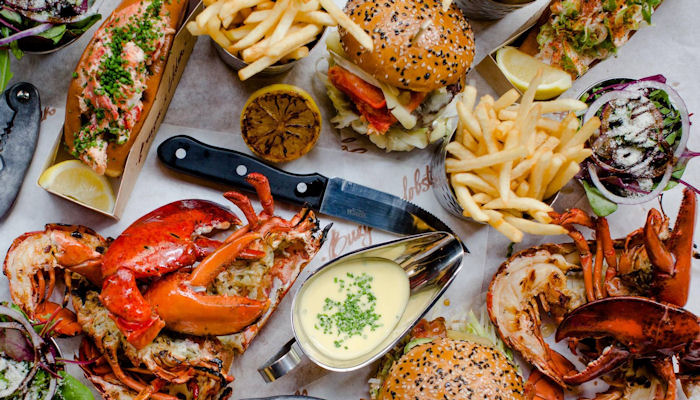 Restaurants near the Palace Theatre Manchester ~ Burger & Lobster