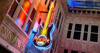 Restaurants in Manchester - Hard Rock Cafe at The Printworks