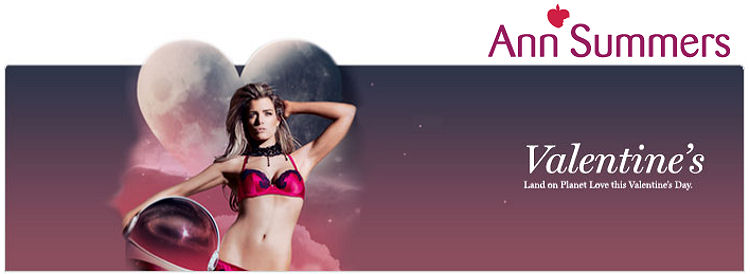 Valentines gifts at Ann Summers