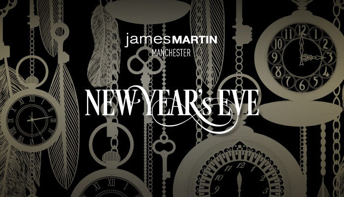 New Years Eve in Manchester Restaurants - James Martin Manchester