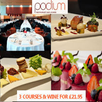 Podium Restaurant at the Hilton Manchester