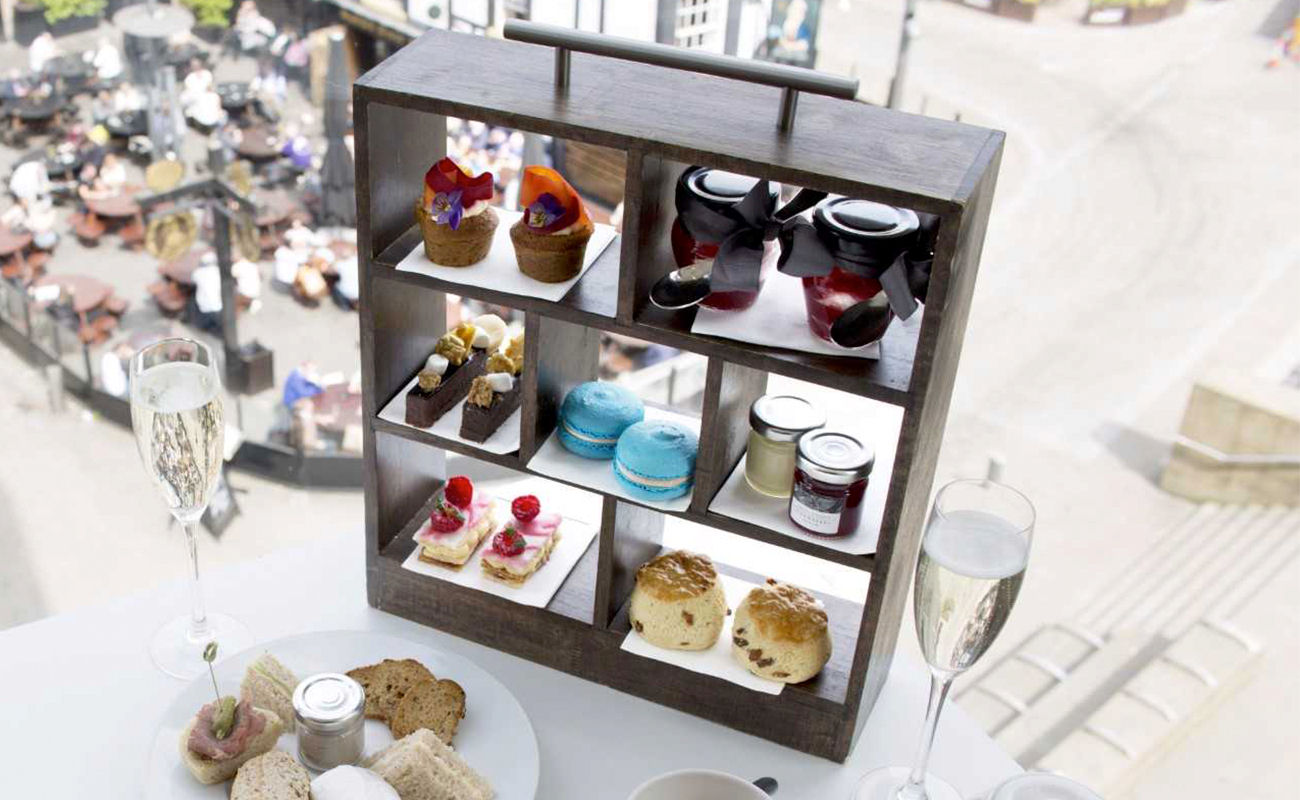 Harvey Nichols Manchester Afternoon Tea