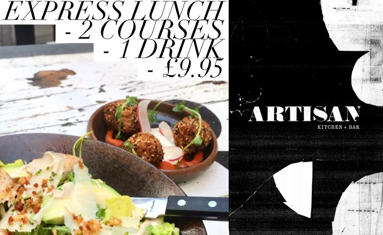 A Kitchen Is Launching An Express Lunch Service: Artisan Kitchen And Bar Manchester