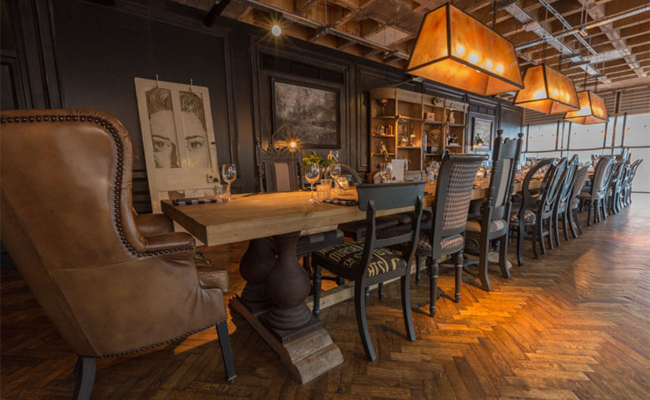 Artisan kitchen and bar manchester reviews and information for Best private dining rooms manchester