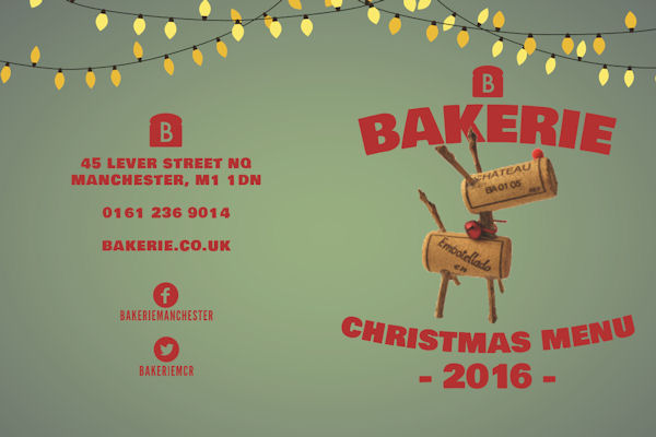 Christmas In Manchester Restaurants -  Bakerie Manchester