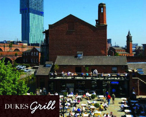 European restaurants in Manchester - Dukes 92