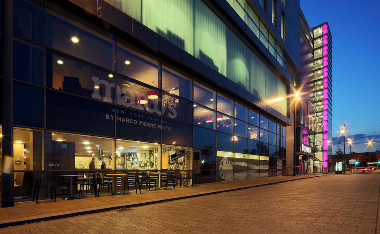 Food Near The Lowry Theatre