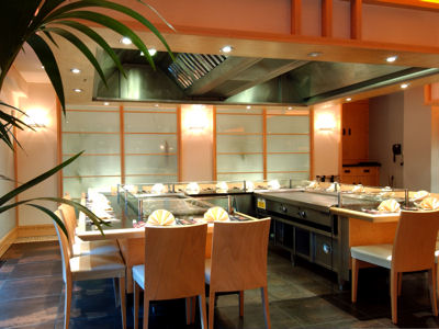 Restaurants near the Bridgewater Hall Manchester - Sapporo Teppanyaki restaurant Manchester