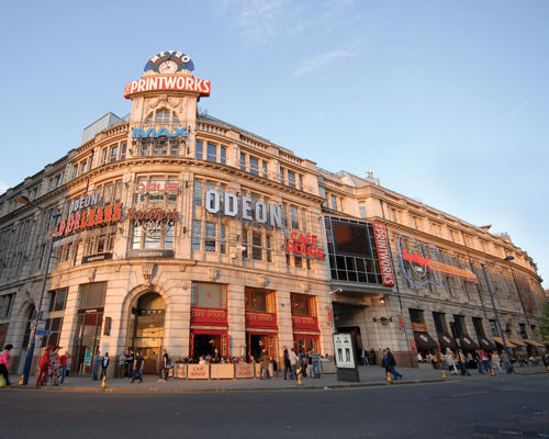 Restaurants near the MEN Arena - The Printworks Manchester