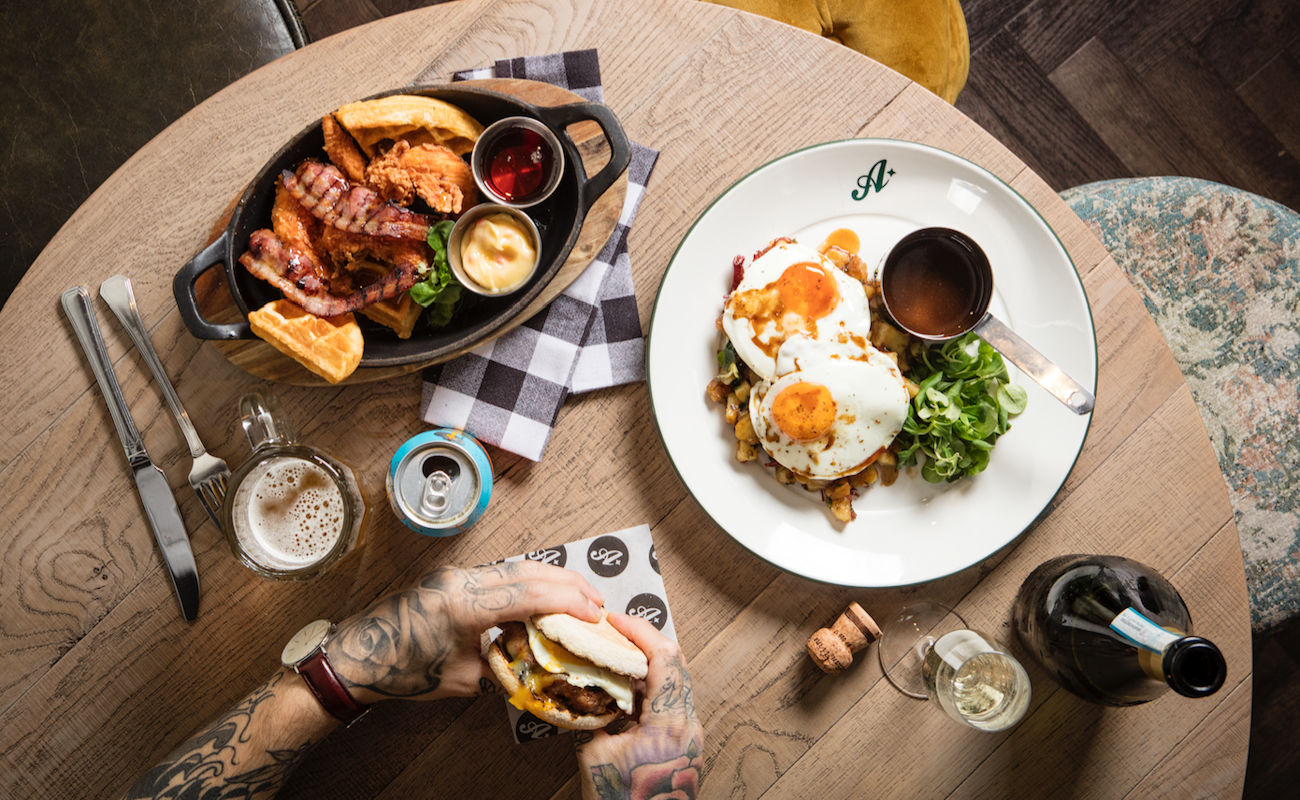 Breakfast & Brunch at restaurants in Manchester ~ All Star Lanes