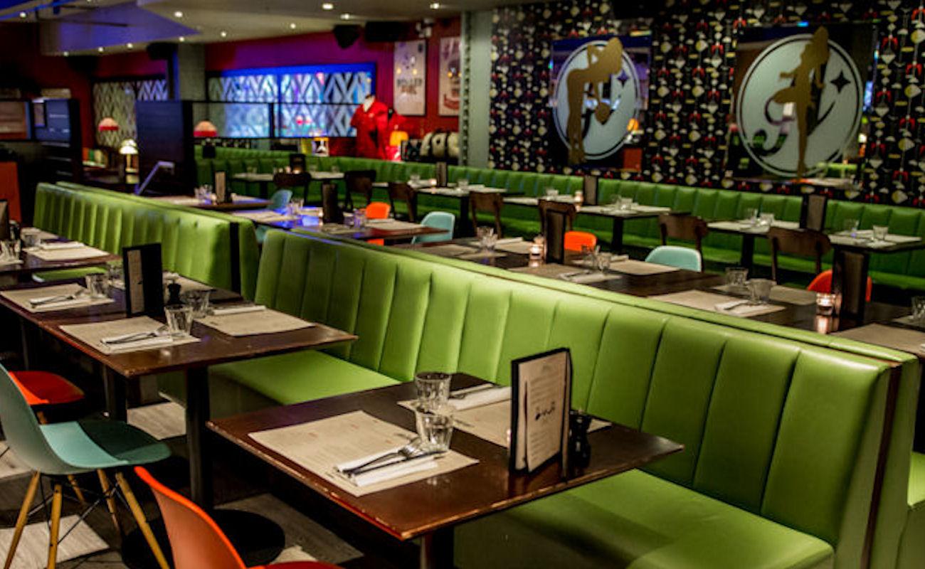 All Star Lanes Restaurant Manchester