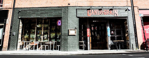 Disabled access Manchester restaurants - Cane & Grain