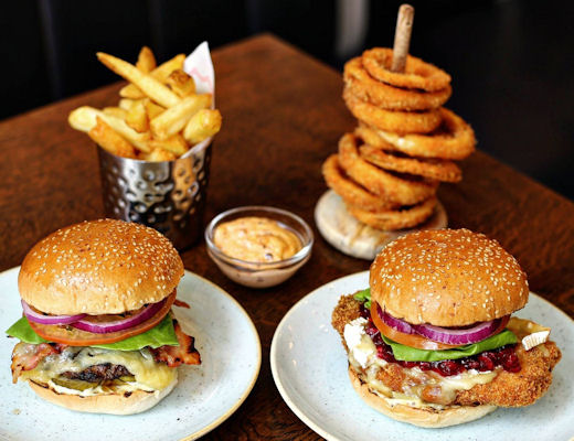 Restaurants near Royal Exchange Manchester ~ GBK Manchester Spinningfields