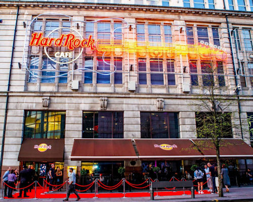 Burger restaurants in Manchester - Hard Rock Cafe Manchester