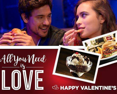 Valentine's Day In Manchester - Hard Rock Cafe
