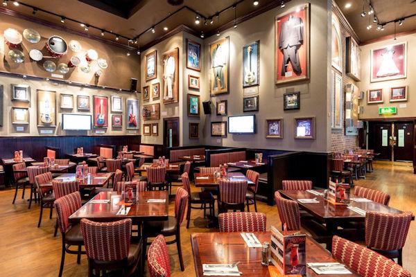Printworks bars - Hard Rock Cafe