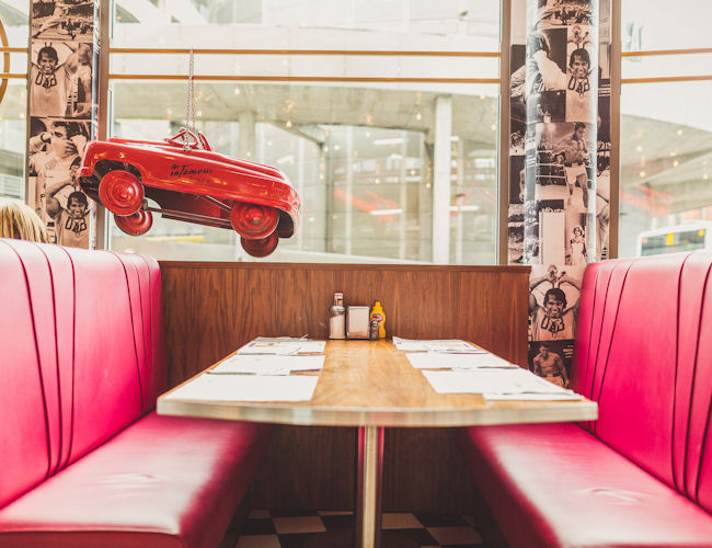 Northern Quarter Manchester restaurants - Infamous Diner