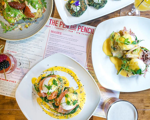 Breakfast & Brunch at restaurants in Manchester ~ The Pen & Pencil