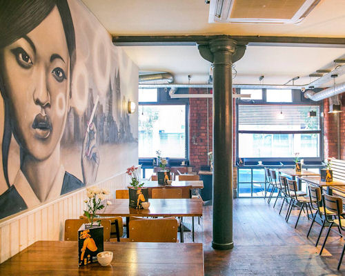 Dog friendly restaurants in Northern Quarter ~ The Pen & Pencil
