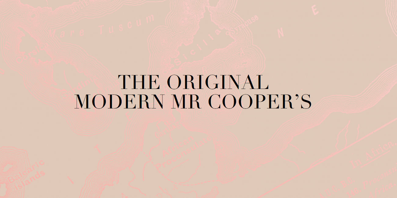Mr Cooper's Manchester