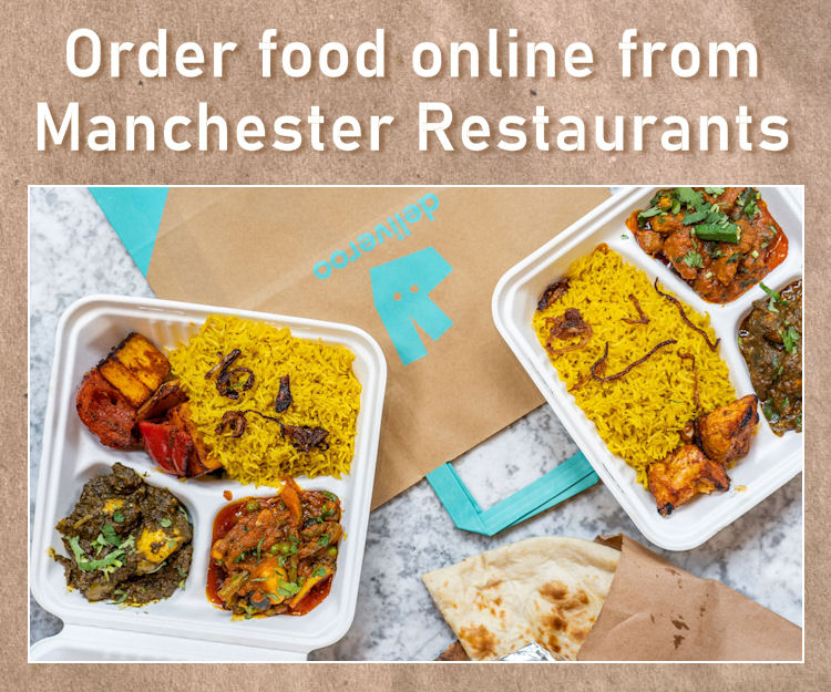 Online takeaways in Manchester
