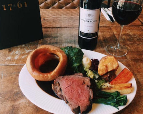Best Sunday roast Manchester ~ 1761