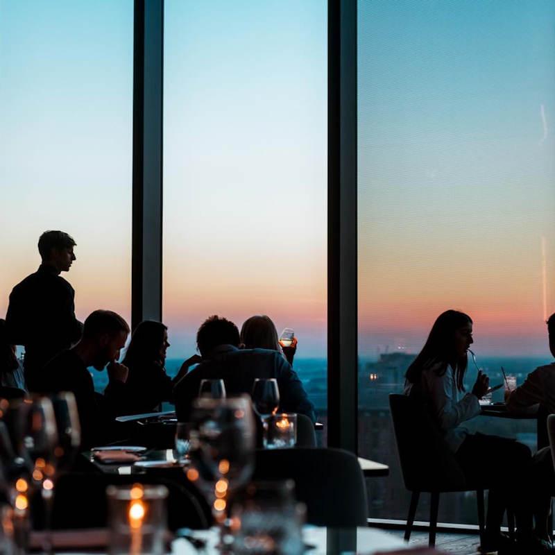 Manchester restaurants - 20 Stories Manchester