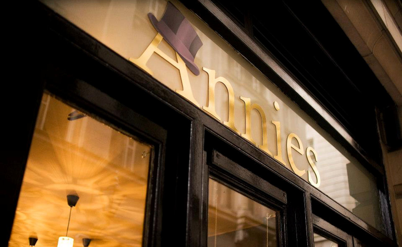 Manchester restaurants - Annies Manchester
