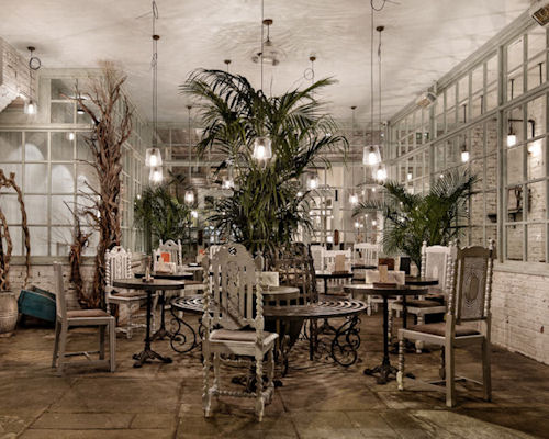 Restaurants near the Royal Exchange Manchester - The Botanist Manchester