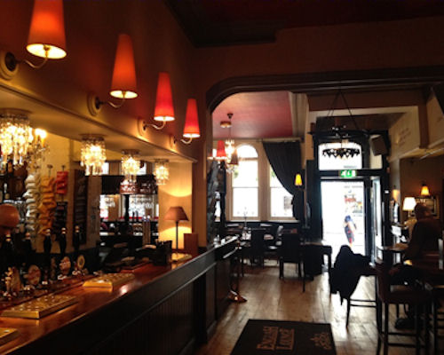 Manchester Arena Pubs ~ The English Lounge