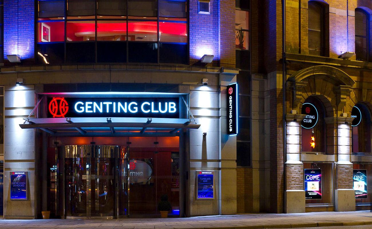 Genting casino corner house nottingham