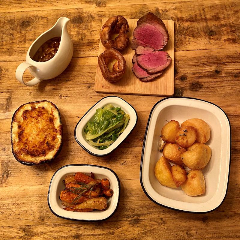 Hawksmoor At Home - Sunday Roast Menu Box