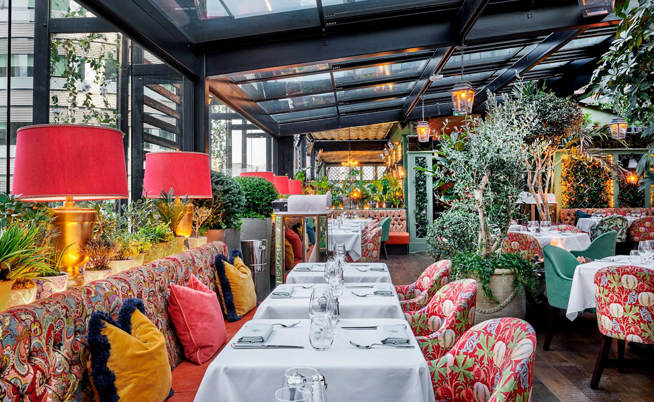 The Ivy - Roof Terrace