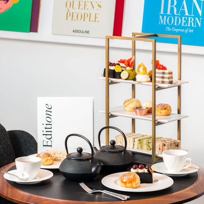 The Best Afternoon Tea Manchester - The Library by Assouline Manchester