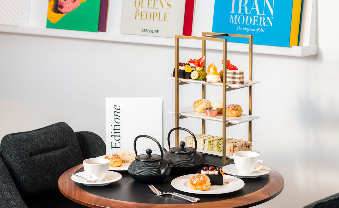 Afternoon Tea Manchester Restaurants - The Library by Assouline Manchester
