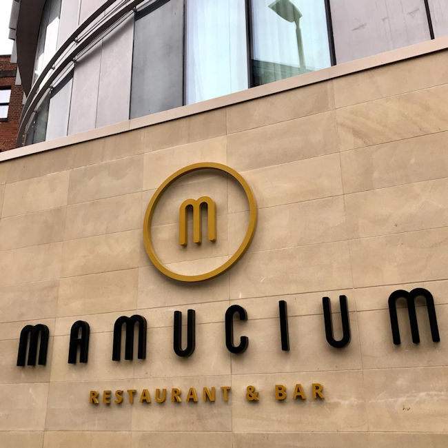Mamucium Restaurant Manchester Review