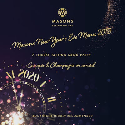 Manchester Bars New Year's Eve ~ The Masons