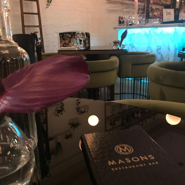 Masons Restaurant Manchester Review
