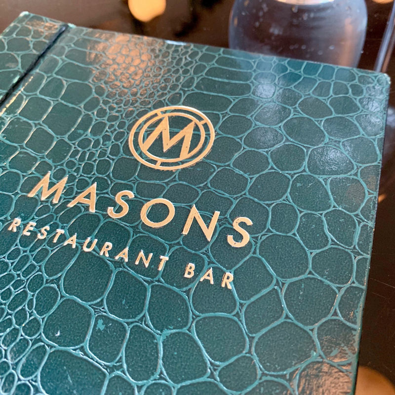 Masons Restaurant Bar - Summer Menu Preview