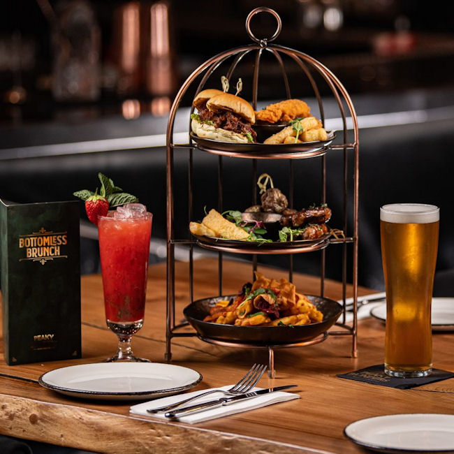Bottomless Brunch Manchester - Peaky Blinders
