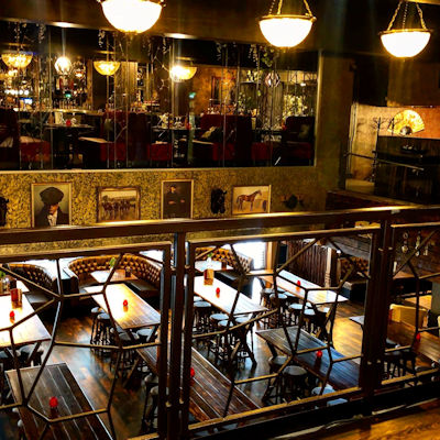 Best British Restaurants Manchester - Peaky Blinders