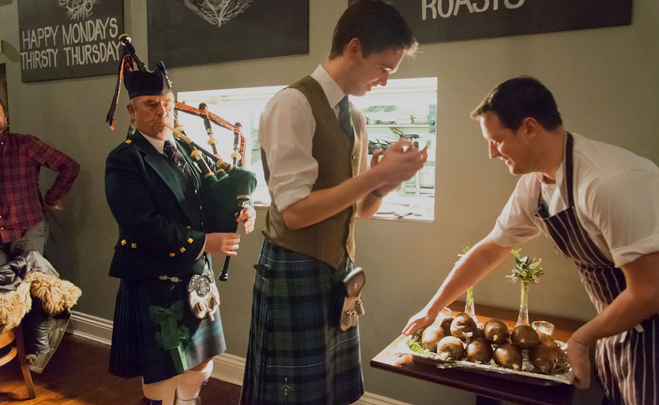 Burns Night in Manchester restaurants