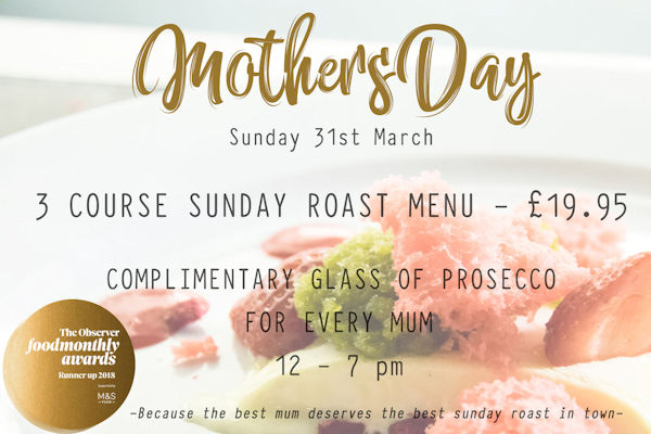 Restaurants of Manchester Mother's Day ~ TNQ