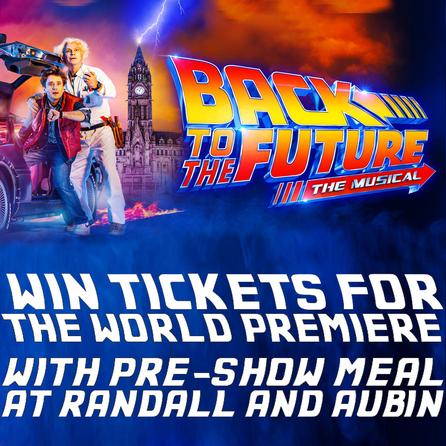Pride Of Manchester - Back To The Future Competition