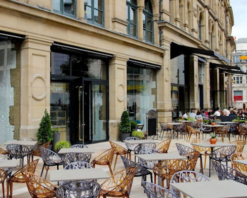 Restaurants in Manchester with Alfresco Dining ~ Corn Exchange Manchester