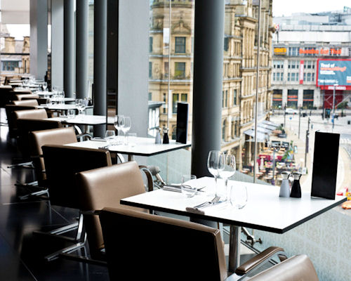 Best Restaurants in Manchester - Second Floor Brasserie at Harvey Nichols Manchester