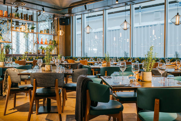 Restaurants near the shops Manchester - The Anthologist