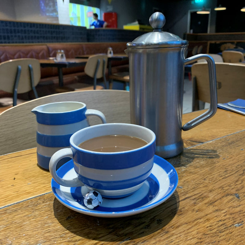 Cafe Football Manchester ~ Afternoon Tea Preview