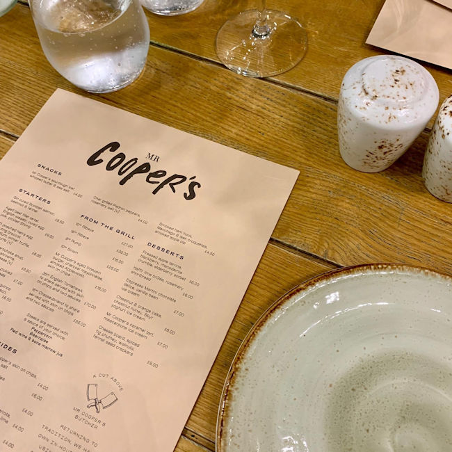 Mr Cooper's Manchester Review