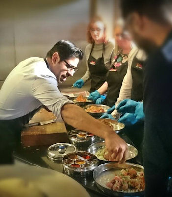 Indian cooking class Manchester ~ Zouk Manchester